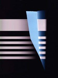 Lichtrhythmusfänger blau, 45x60cm, c-print, 2016