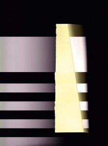 Lichtrhythmusfänger gelb, 45x60cm, c-print, 2016