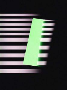 Lichtrhythmusfänger grün, 45x60cm, c-print, 2016