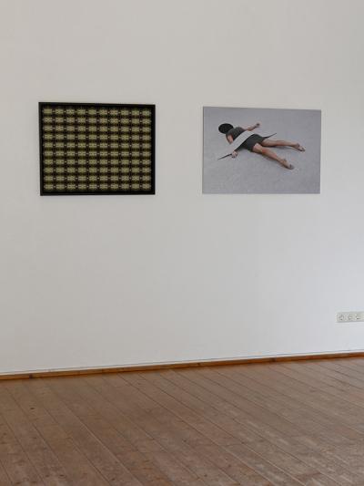 Grit Reiss, exhibition view 2018, Kulturschmiede