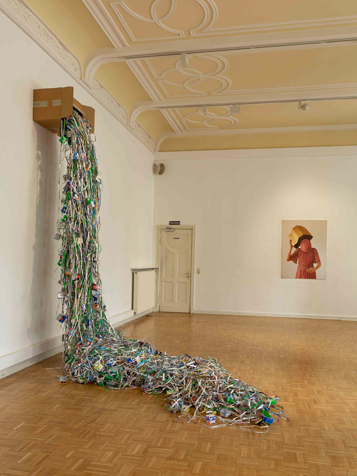 #gritreiss #Meisterschülerin #judithsamen #Artbasel #Artothek #KunsthalleWiesbaden #nachhaltigekunst #sustainableart